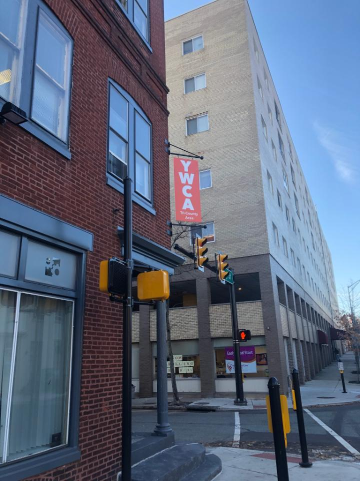 New Sign Outside of 300 King St
